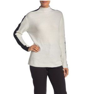 NWT! Vince Camuto Color Block Mock Sweater M